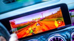 Mercedes-Benz como controlador de Mario Kart, increíble 1