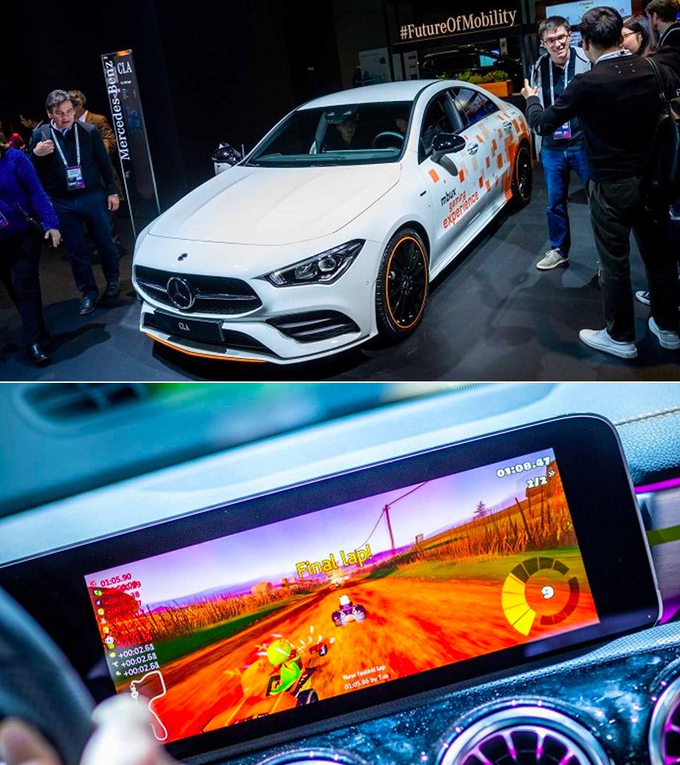 Mario Kart Mercedes-Benz
