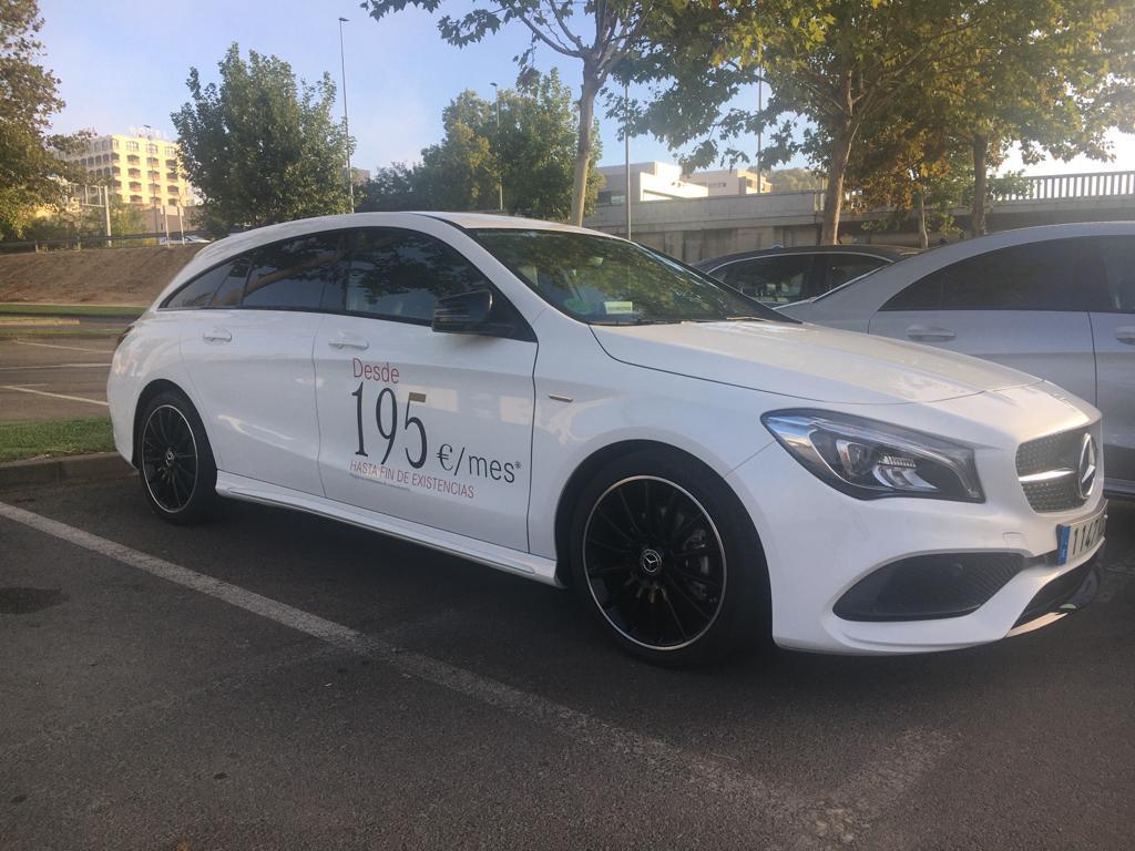 Mercedes-Benz CLA Shooting-