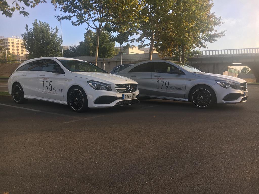 Promoción de Mercedes-Benz CLA y CLA Shooting Brake
