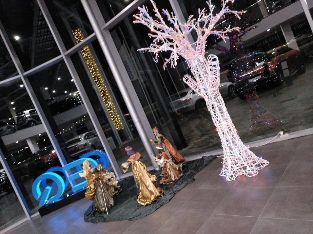 Navidad Mercedes-Benz EQ