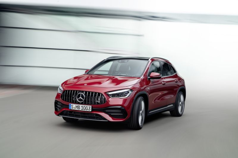 El nuevo Mercedes-AMG GLA 35 4MATIC