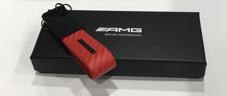 Llavero AMG de fibra de carbono 2