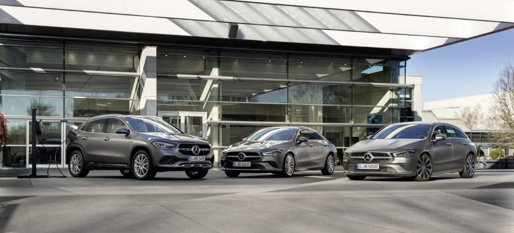 Tres nuevos híbridos enchufables amplían la familia de modelos compactos de Mercedes-Benz 1