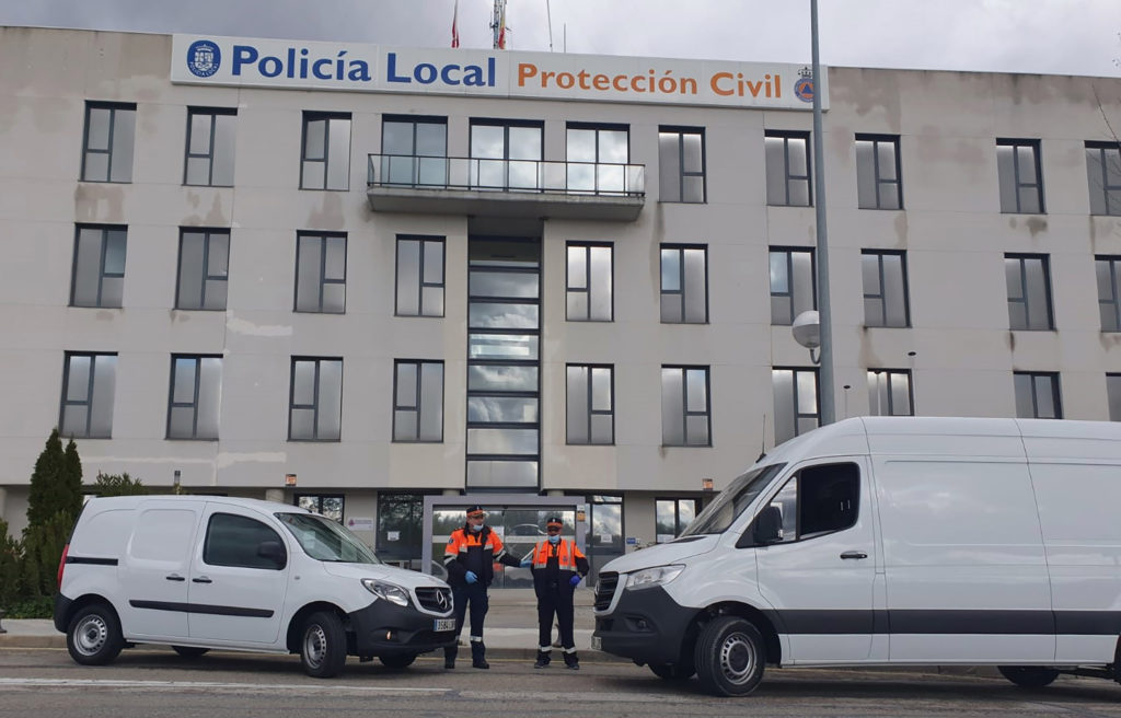 Mercedes-Benz España colabora ante el COVID-19 2