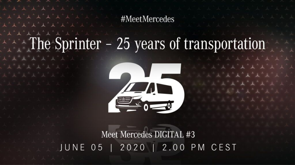 25 años Mercedes-Benz Sprinter