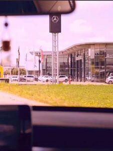 Portada HISTORIA YouTube Mercedes-Benz Extremadura Automoción del Oeste - GMB