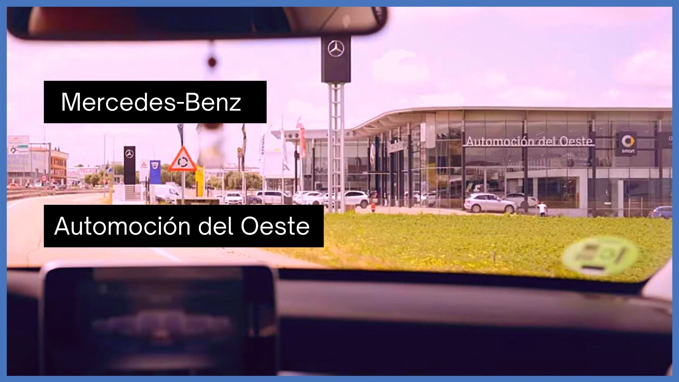 YouTube Mercedes-Benz Extremadura Automoción del Oeste