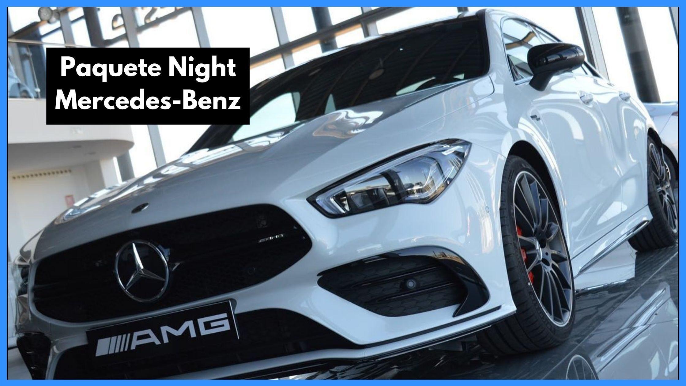 Paquete Night Mercedes-Benz - Automoción del Oeste