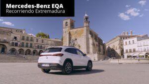 Mercedes-Benz EQA - Recorriendo Extremadura