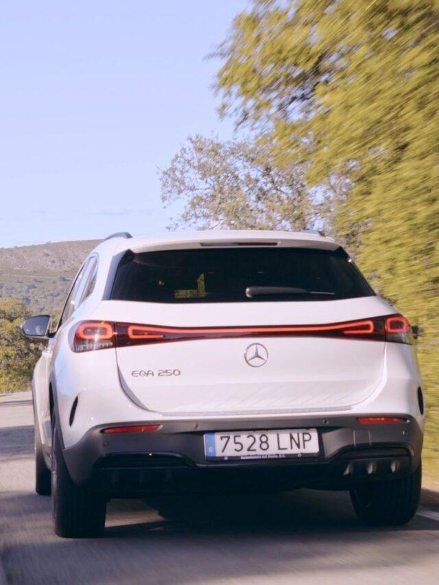 Casi 480 Km por Extremadura con el Mercedes-Benz EQA SUV 100% ELÉCTRICO