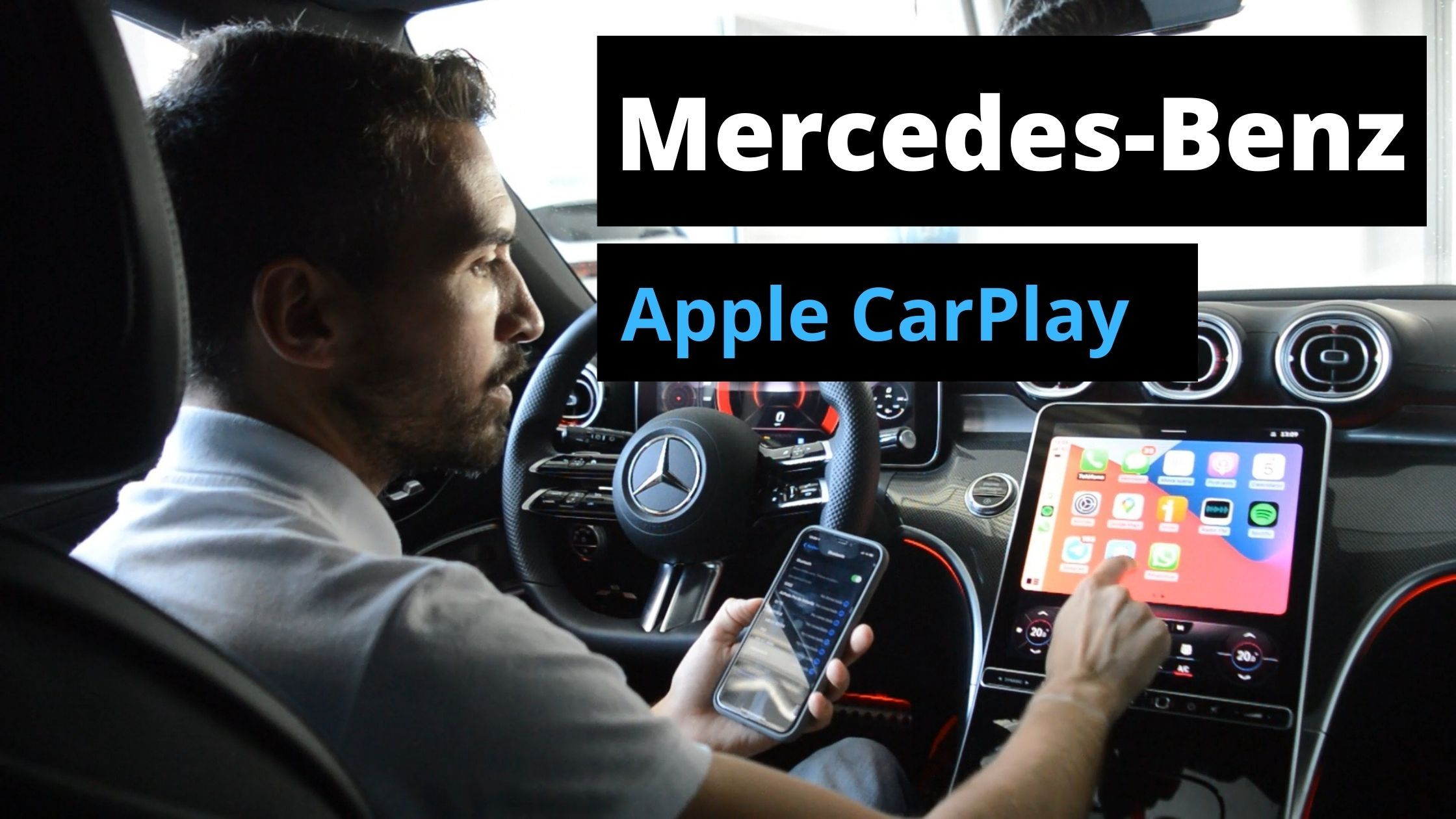 Conectar Apple CarPlay - BLOG
